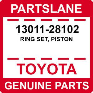 13011-28102 Toyota OEM Genuine RING SET, PISTON