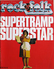 ROCK & FOLK 155 1979 Supertramp Fleetwood Mac Ray Davies Jacques Higelin AC/DC