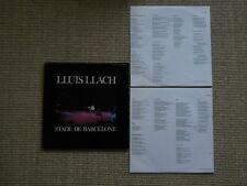 LLuis LLach Stade De Barcelone LP washed /gewaschen 2 LP Set incl. OIS / Lyriks
