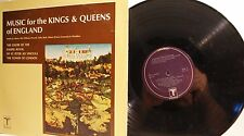 Music for the King's & Queen's of England - Chapel Royal of St. Peter -  LP 1974