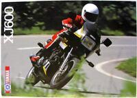 YAMAHA XJ600 - Motorcycle Sales Brochure - 1986 - #LIT-3MC-0107927-86E