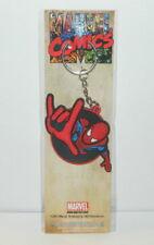 The Amazing Spider-Man Spidey Power 3-D Die-Cut Figure Rubber Keychain UNUSED