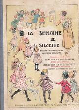 La Semaine de Suzette Album éditeur 1935 2e semestre