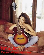 "Shania Twain~Color~Poster~Photo~16"" x  20"""