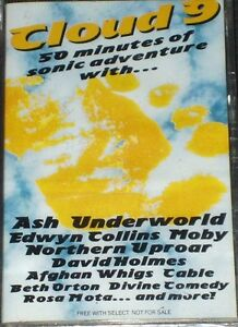 SELECT CLOUD 9 DIVINE COMEDY TRASH CAN ASH MOBY PROMO CASSETTE SEALED NEW