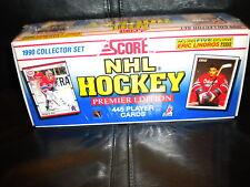 NHL NEW SCORE 1990 HOCKEY CARDS COMPETE SET 445 UNOPENED