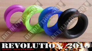 Soft/Flexi Silicone Flesh Tunnel (Pick Size & Colour)
