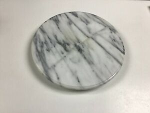 """Marble Lazy Susan or Cheese Plate 12"""","""