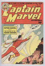 Captain Marvel Adventures #116 (1951) VG Fawcett Golden Age Shazam