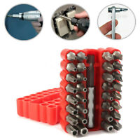33pcs Réparation Bit Set Inviolable Torx Clé Tournevis Star Hex Porte-canne.