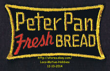 LMH PATCH Badge  PETER PAN FRESH BREAD  1940s Wonder Bakeries  Childrens Logo