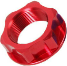 ZETA STEERING STEM NUT BOLT Red M26X32-P1.0 H10 Fits: Honda CRF450R,CRF250R,CR