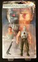 NOS 1991 Kenner Terminator 2 BATTLE DAMAGE TERMINATOR Action Figure 56410 Toy