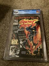 GHOST RIDER V2 #28 CGC 9.6 WHITE PAGES 1ST MIDNIGHT SONS & LILITH- MARVEL COMICS