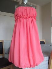 Donna Bella Cocktail Prom/Wedding/Evening Summer Strapless Dress Size 8