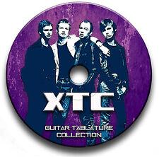 XTC New Wave Rock Guitar Tab Tablature Song Book CD