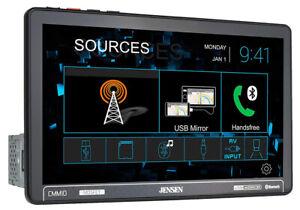 "Jensen CMM10 10.1"" Single Din Touchscreen Bluetooth Multimedia Receiver"