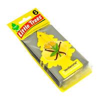Little Trees Car Air Freshener 6-Pack (Vanillaroma)