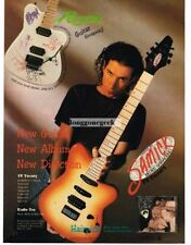 1995 SAMICK TV Twenty Electric Guitar BLUES SARACENO Vintage Print Ad