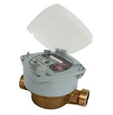 Contador de agua Elster S-150 DN13mm con racores Nuevo, preciso y duradero