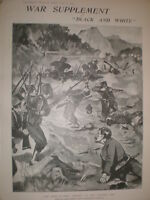 Greece Turkey war 1897 old prints and articles  my ref L