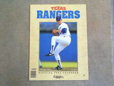 TEXAS RANGERS BASEBALL YEARBOOK - 1992 - NOLAN RYAN - NEAR MINT