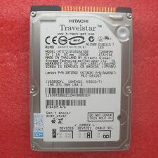 """Hitachi Travelstar 100GB 2.5"""" IDE Hard Drive  7200 RPM HDD HTS721010G9AT00"""
