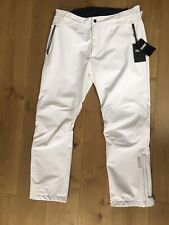 "Colmar Technical Soft Shell Ski Pants 38-40"" Waist XL BNWT Rrp £200 White"