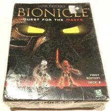 Lego Bionicle Quest For The Masks Card Game Deck 2 Kopaka/Tahu 1st Ed Brand New