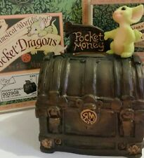 Rrd�Pocket Dragons Dragon *� Mint in Box & Signed �* Pocket Money * 1999 *