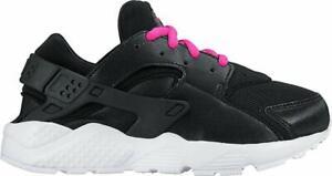 Nike Girls Preschool Huarache Run Running Shoes 704951-007