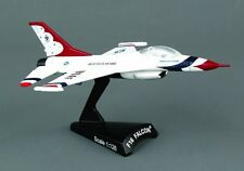 Postage Stamp 1:126 Lockheed Martin F-16 Falcon Thunderbirds AVIATIONMODELSHOP