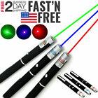Внешний вид - 3 Packs 5 m W Strong Laser Pointer Pen Green Blue Red Light Visible Beam For Pet