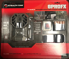 STEALTH CAM STC-G26FXNGK FX SHIELD INFRARED SCOUTING CAMERA COMBO KIT