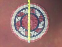 Rattan Tablemats Rattan Placemats for Dining Table, Natural Rattan Placemats Han
