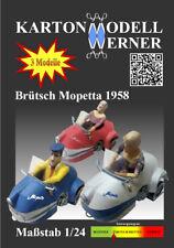 Karton-Modell-Bausatz Brütsch Mopetta1958, Maßstab 1:24