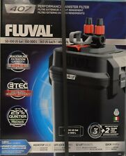 Fluval 407 Performance Canister Filter A449 Black 50-100 Gallon Aquarium NEW
