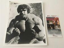 Lou Ferrigno Signed Autographed 8x10 Photo JSA Certified Hulk