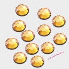 Pedrería HotFix rhinestones 1440 piezas de oro ø5mm