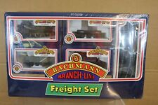 BACHMANN 30-201 LONDON TRANSPORT FREIGHT SET & PANNIER TANK LOCO L99 SEALED np