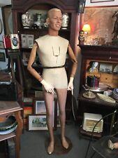 Superbe Mannequin marque SIEGEL  années 30 complet entièrement articulé signé