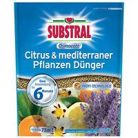 Substral Osmocote Citrus & mediterraner Pflanzen Dünger 1,5 kg - Zitruspflanzen