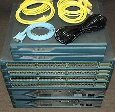 Cisco CCNA CCNP CCIE Lab with 2xCISCO1841 2x2821 WS-C3548-XL-EN 180DaysWty