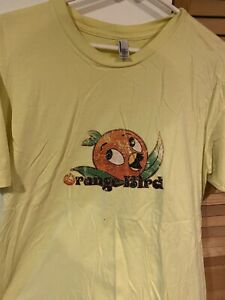 Disney Florida Orange Bird Disney World Shirt Size XL Rare Adventureland Tiki