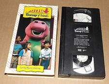 Barney & Friends CARING MEANS SHARING vhs video Time-Life Video