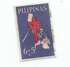 PHILIPPINES; PILIPINAS CHARITY STAMP 6 + 5   USED *s