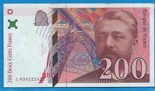 Gertbrolen  200 Francs EIFFEL Type 1996 Billet L039222422