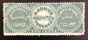 Scott #RS40a, Brown's Bronchial Troches