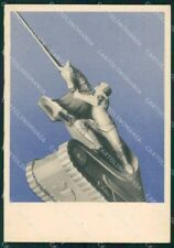 Militari V Gruppo Carri Veloci Baldissera FG cartolina XF7365