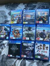 PS4 Games Bundle (10 GAMES)
